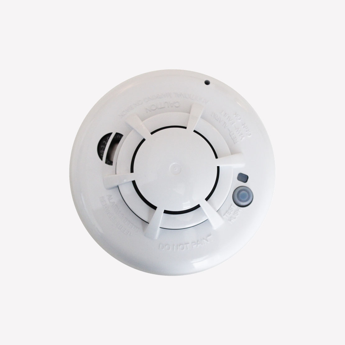 Smoke Detector Vector Security