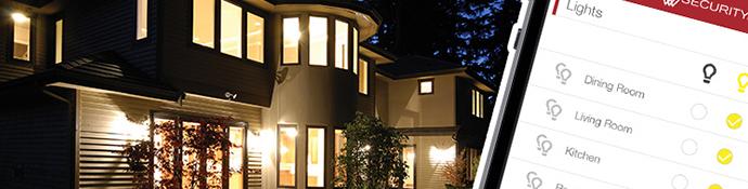 Protect your home while you're away with Vector Security's home automation solution.