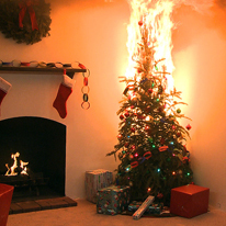 christmas tree safety tips prevent house fires. Black Bedroom Furniture Sets. Home Design Ideas