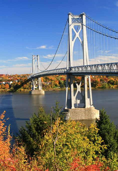 Bridge in Poughkeepsie, NY