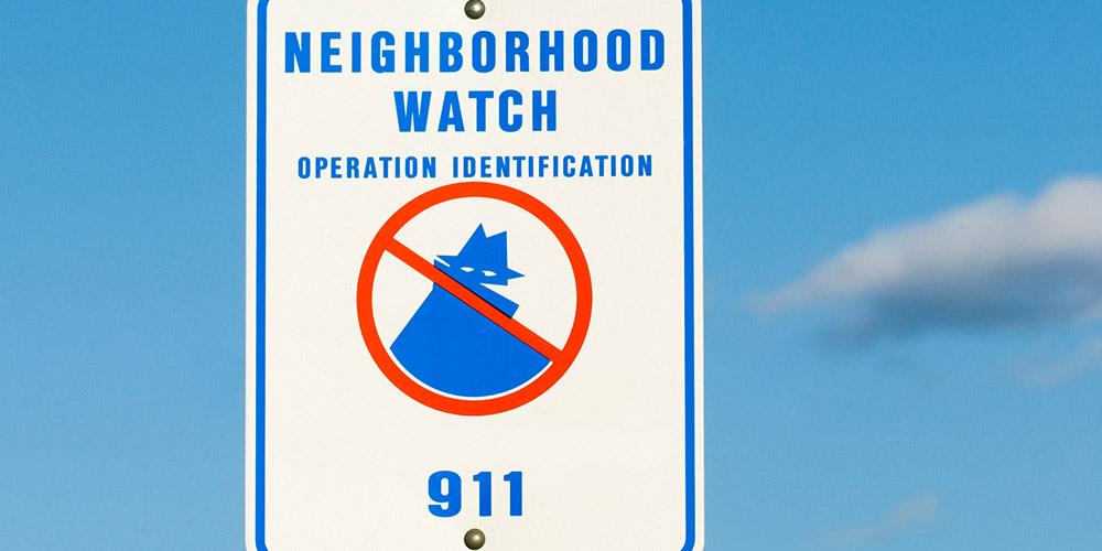 neighborhood watch brochures choice image