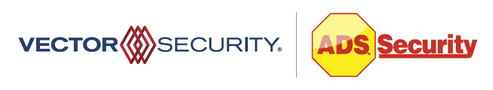 Vector Security & ADS Security cobranded logo